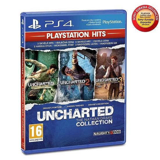 PS4 Uncharted Collection (HITS)