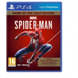 Sony - PS4 Marvel'sSpider-ManOyun