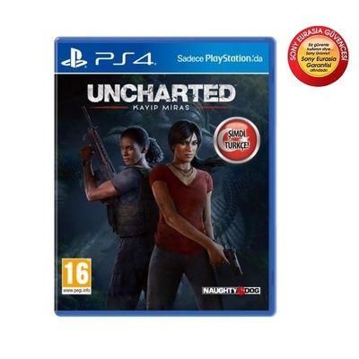 PS4 Uncharted: Kayıp Miras HITS