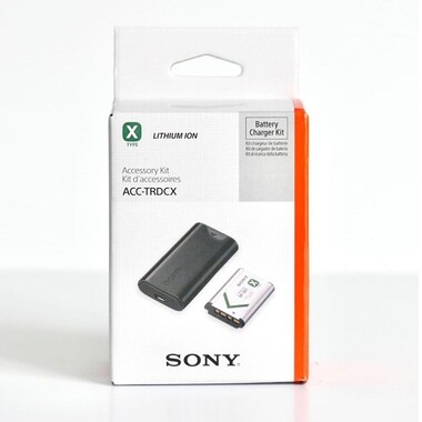Sony - Sony ACC-TRDCX Şarj Cihazı + NP-BX1 Batarya Kit