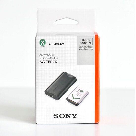 Sony ACC-TRDCX Şarj Cihazı + NP-BX1 Batarya Kit
