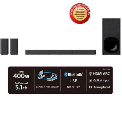 Sony HT-S20R 5.1 400 W Bluetooth Soundbar