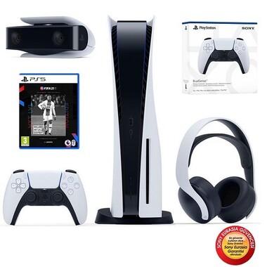 Sony - Sony Playstation 5 Konsol Aksesuar Ve Oyun Paketi