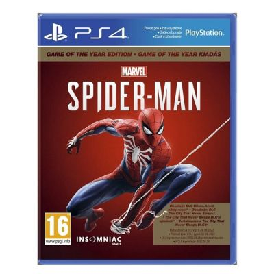 SONY PS4 Oyun: Spiderman GOTY Edition