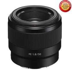 Sony - Sony SEL50F18F Full Frame Portre Lens