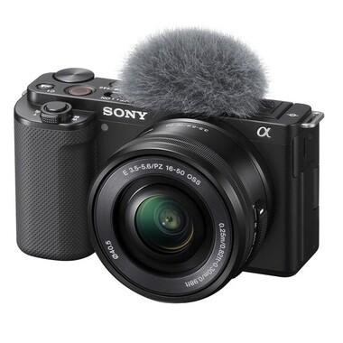 Sony - Sony ZV-E10L (SELP1650 Lens-kit) Değiştirilebilir lensli Kamera